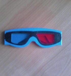 3d очки из картона