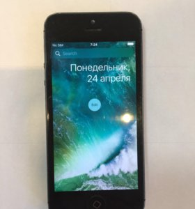 iPhone 5 16 GB model A1429