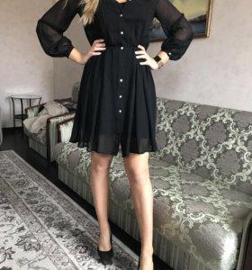 Шикарное платье бенетон
