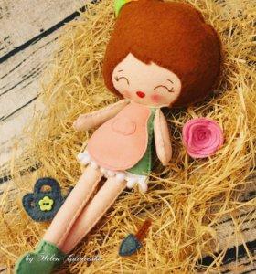 Куколка Садовница ручной работы