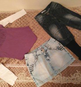 Одежда на девочку (размеры 128-134-140)