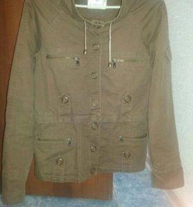 куртка джинсовая р44