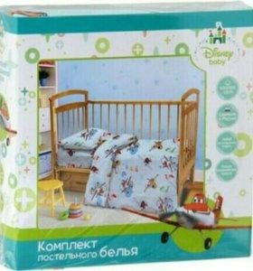 КПБ Дисней в детскую кроватку