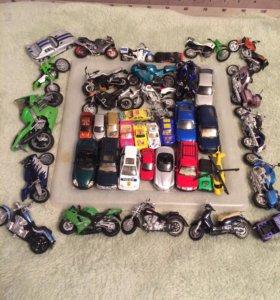 Мотоциклы,машины