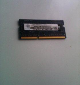 Оперативная память 2 Gb DDR3