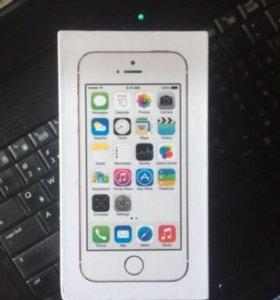2 коробки от iPhone 5s gold