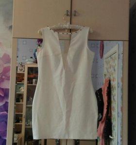 Платье  белое befre