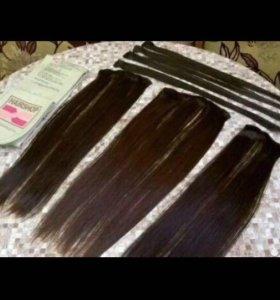 Искусственные волосы , волосы на заколках