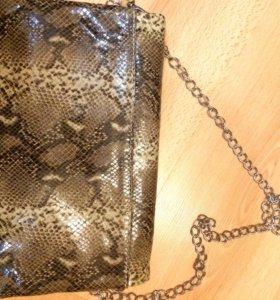 Новая сумка клач. Кожа натуральная . Оригинальная.
