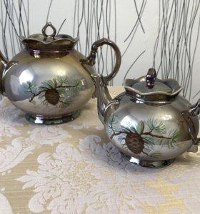 Фарфоровые чайники!