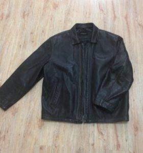 Куртка муж.52-54 100%натуральная кожа