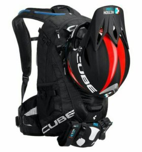 Велорюкзак CUBE Backpack FRS 18 Blackline
