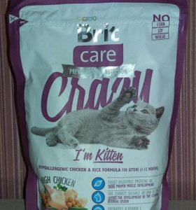 Сухой корм для котят Brit Care