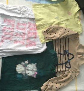 По отдельностиКофточки с рукавами, штаники, костюм