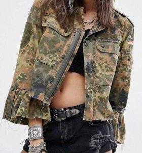 Куртка милитари размер S