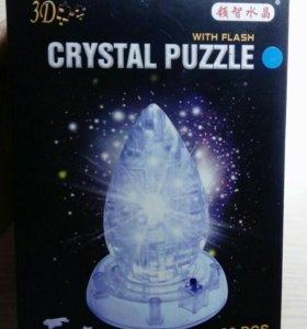 """3D-головоломка, светильник Crystal Puzzle """"Капля"""""""