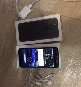 iPhone 7 128 черный матовый