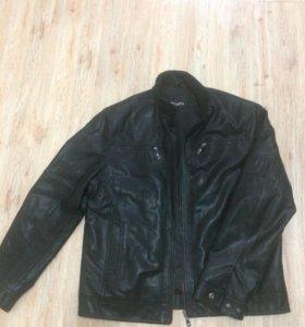 Куртка мужская 54 р-р кожзам