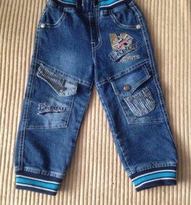 Штаны джинсовые детские