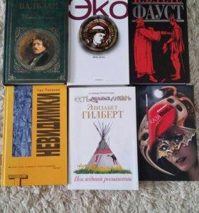 Художественная литература (книги больш.количество)