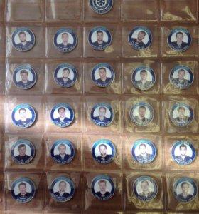 Подарочный набор монет ХК Сибирь