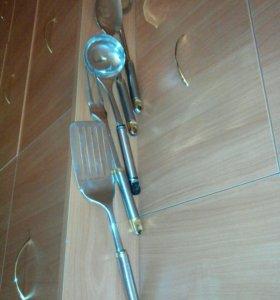 Набор кухонных принадлежностей 5 предметов б/у