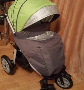 Погулочная коляска +сапоги