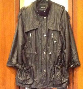 Куртка женская- ткань под мятую кожу 52-54 размер.