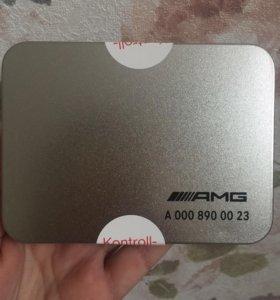 Накладка на ключ AMG