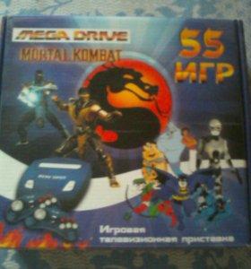 Игровая приставка Sega mega drive mortal kombat