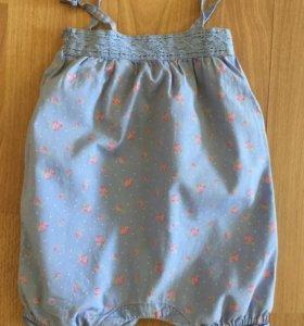 Песочник для девочки 0-9 месяцев