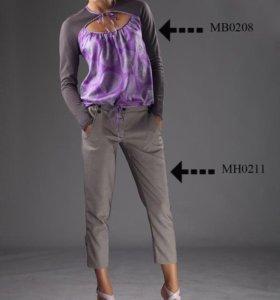 Стильный комплект,блуза и брюки,можно отдельно