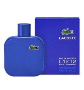 Lacoste L.12.12. Powerful Blue 100 ml (мужская)