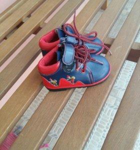 Новые ботиночки 19 размер