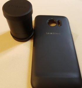Чехол Lens Cover Galaxy S7 edge | ET-CG935DBEGRU |