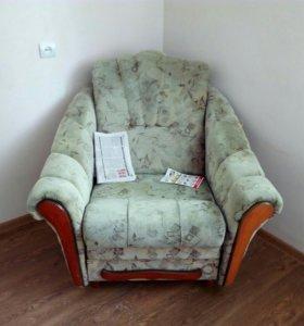 Кресло (раскладное)  и диван