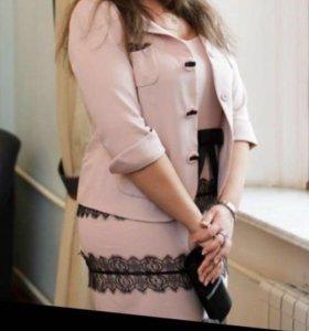 Luisa Spagnoli костюм платье и пиджак