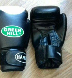 "Боксёрские перчатки ""Green Hill"" Hamed"