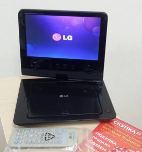 Портативный DVD проигрыватель LG DP482B