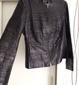 Куртка натуральная кожа Vespucci
