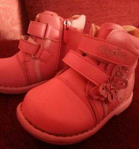 Ботиночки для девочки. Ортопедические.