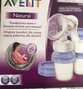 Молокоотсос Avent Natural