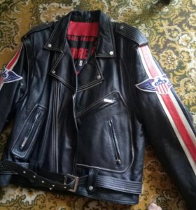 куртка кожаная мужская косуха