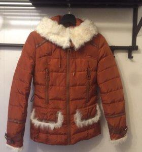 Куртка демисезонная с мехом