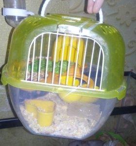 Клетка-террариум для хомяка или мыши