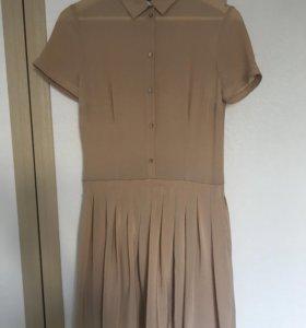 Шелковое платье Trussardi