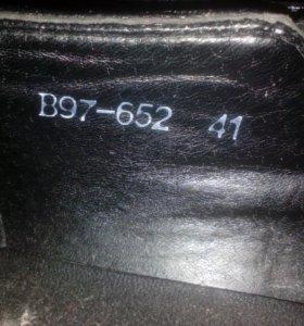 Туфли (черные) 41 размер
