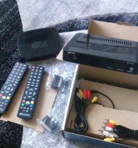 Комплект на два телевизора триколор