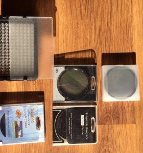 Видео свет и фильтры для объективов