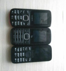 Texet, fly и alcatel onetouch